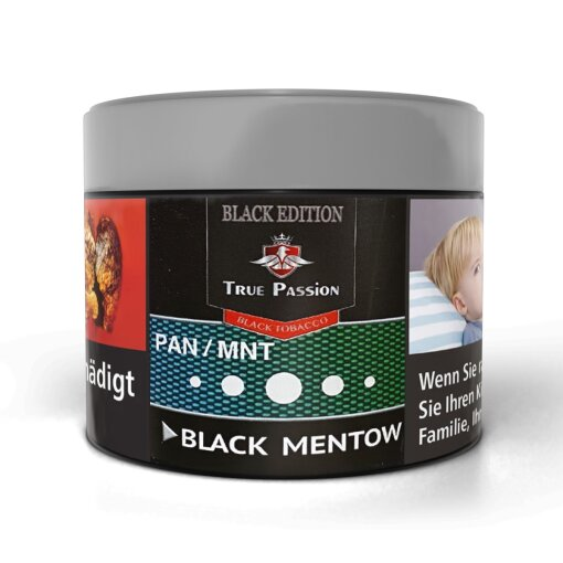 True Passion Black 200g - BLACK MENTOW