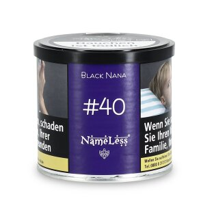 NameLess 200g - BLACK NANA #40 2.0