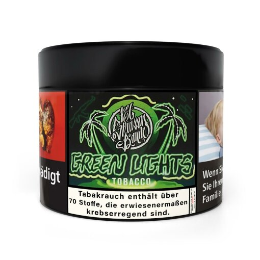 187 Tobacco 200g - GREEN LIGHTS
